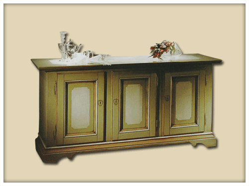 Lacquered sideboard